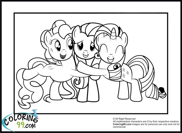 76 best My little pony images on Pinterest Unicorns, Ponies and - copy my little pony coloring pages of pinkie pie