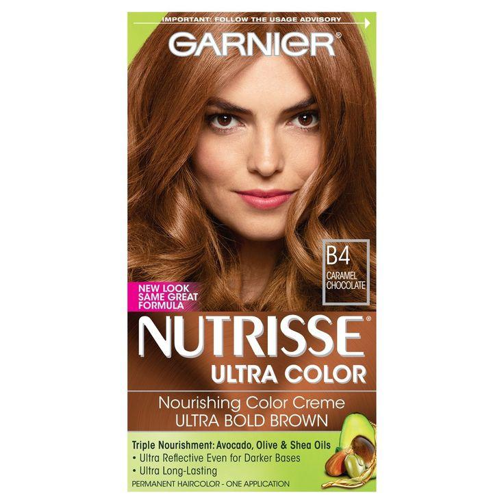 Garnier Nutrisse Ultra Color Nourishing Color Creme B4 Caramel Chocolate