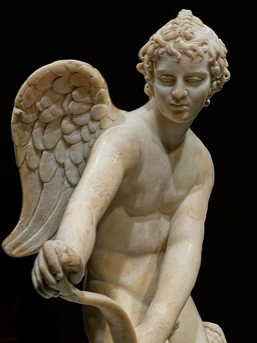 Eros 2nd century CE Roman copy of 4th century BCE Greek original by Lysippos from the Castello di Guido in Italy (2  British Museum