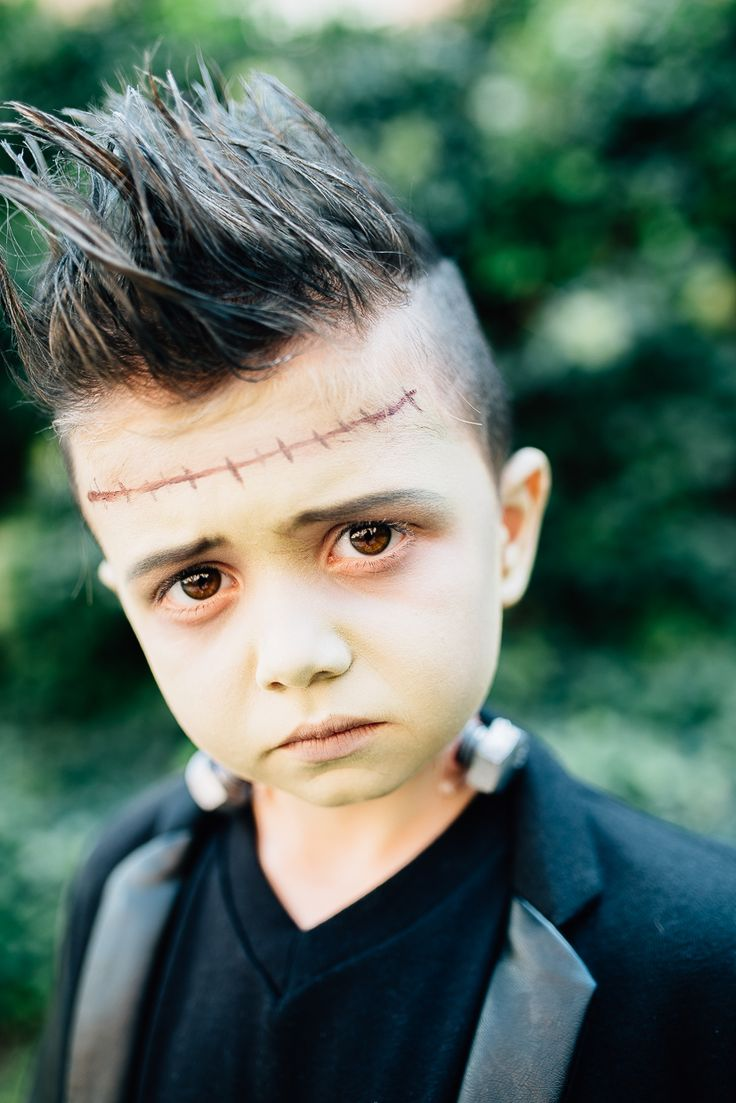 little frankenstein halloween costume