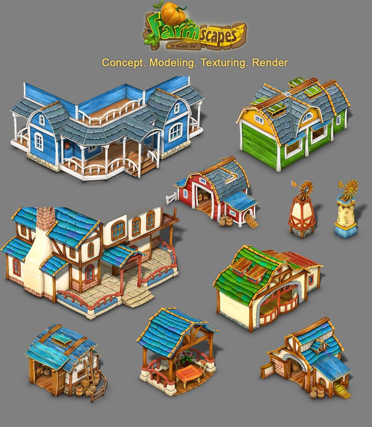 Building for Farmscapes by roma-n on deviantART