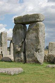 trylit w Stonehenge