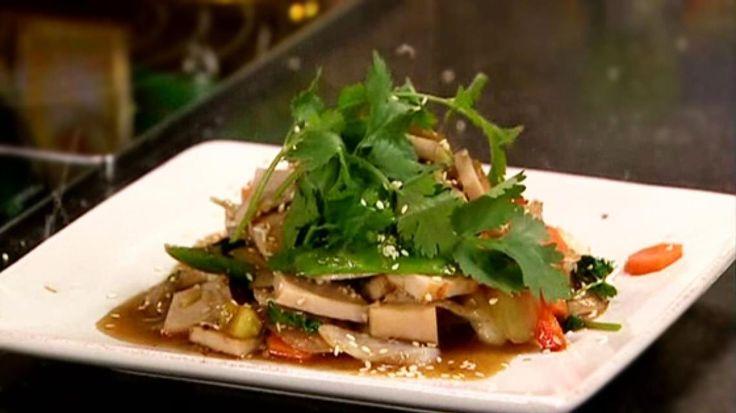 Thaise wok met gember en kipfilet   VTM Koken