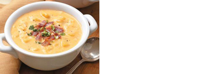 Bramborovo-sýrová polévka