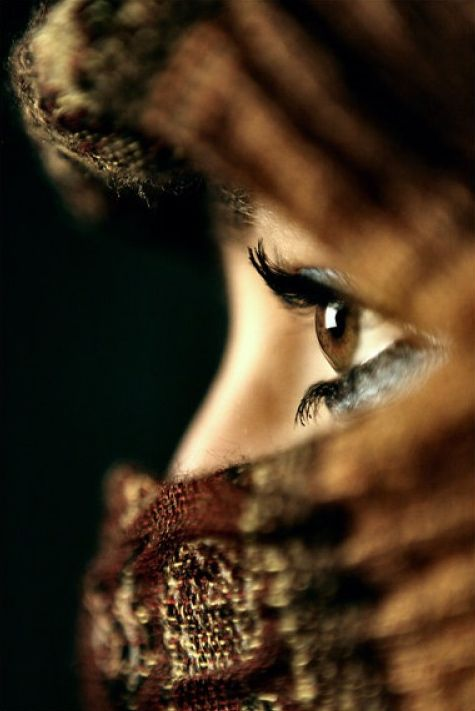 babinus: La vi(ll)e Lumière ☼ mlsg: A veil may give the opportunity to focus on the real beauty…