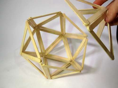 Diy Project Popsicle Stick Icosahedron To Do It