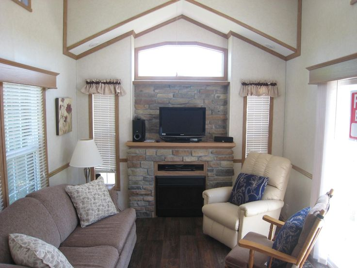 W4945 County Road ES #48, Sugar Creek, WI 53121...1 BR, 1 Bath / 407 SF / $59,900 / Affordable getaway... 2014 Quilridge Model 40 CKJJL-3T Loft Park Unit w/ parking for 3 cars. Located across from Clubhouse, Park, Pool, & Pond. 1 main level BR w/ loft sleeping room. Open concept LR w/ FPL, kitchen/dining. 11'x 13' shed/party room and 6' x 8' garden shed. Golf cart & most furnishings included. Dues include water / Realtor: Connie Poggensee / Contact: 262-215-7644 or poggconnie9@gmail.com