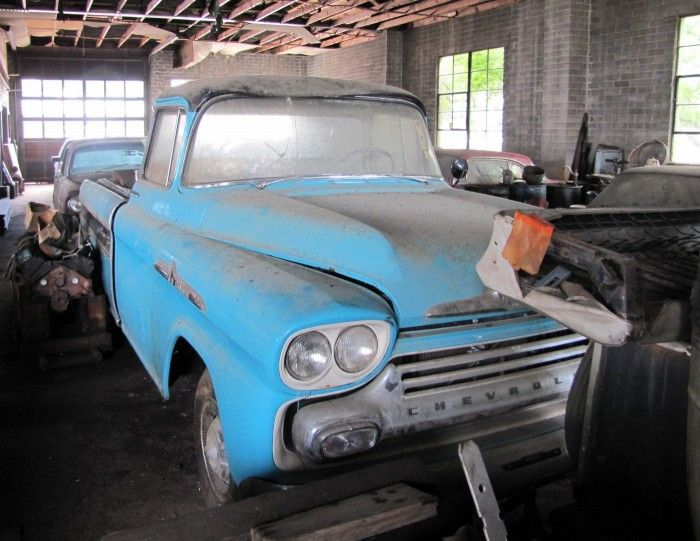 Lifetime collection of mom-n-pop Chevrolet dealership going up for auction