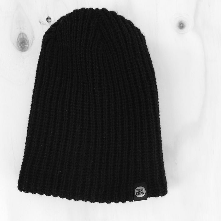 ThickKnit Slouch Beanie - Youth/Adult / Yeahgnar
