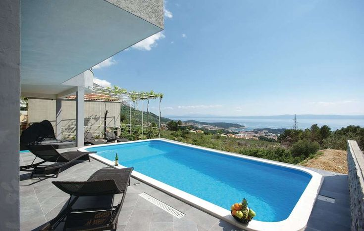 Villas Makarska Croatia - Villa in Makarska with pool and panoramic sea view, great for Family Villa Holidays in Makarska Croatia, whirlpool, free parking and WiFi - VillasCroatia.com #VillasCroatiaCom