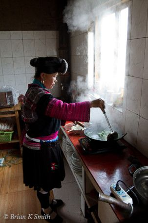 How to make a fermented rice hair rinse and the story of the village of long-haired women in China.