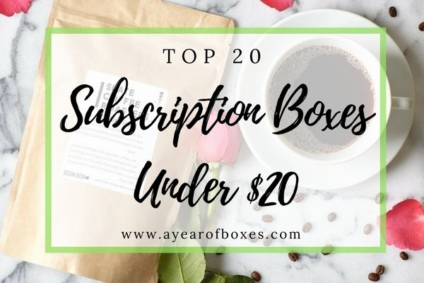 Top 20 Subscription Boxes Under $20 to Try in 2017 https://www.ayearofboxes.com/subscription-box-lists/top-20-subscription-boxes-under-20-to-try-in-2017/