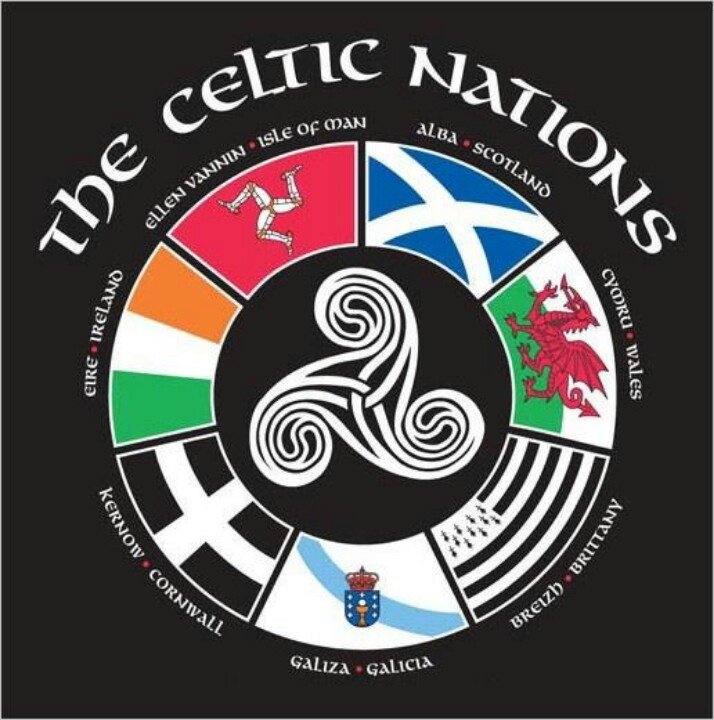 The 7 Celtic Nations :  Ecosse, Irlande, Pays de Galles, Bretagne, Cornouailles…
