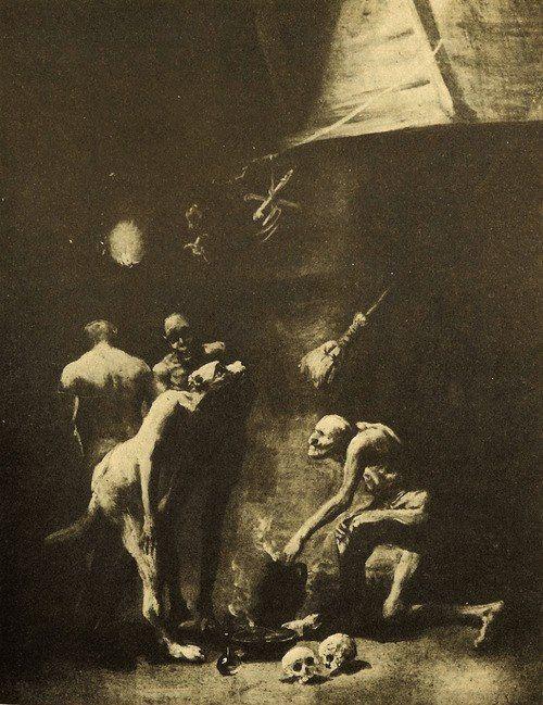 Cocina de las brujas, 1797-1798 Francisco de Goya