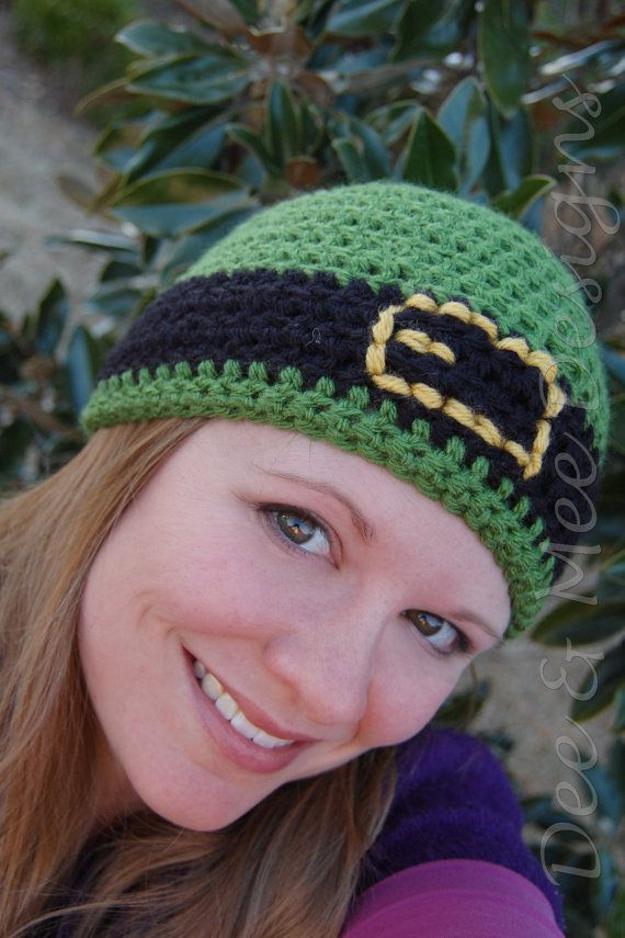 St Patrick's Day beanie hat! Just listed on Etsy for $18.00 - it's not too early to start shopping.