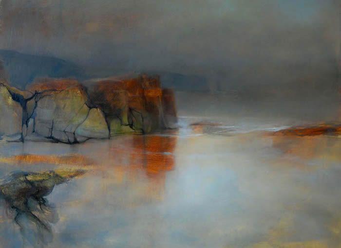 """Rocks at Sandwood Bay"" by Beth Robertson Fiddes (gallery1)"