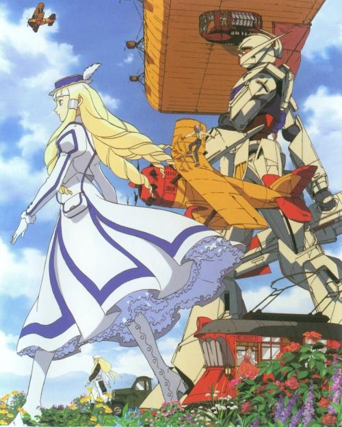 Turn-A Gundam Art Works anime