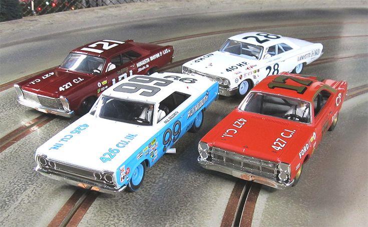 Vintage Monogram slot cars | ... 1967 Plymouth - Paul GoldSmith - Home Racing World & Slot Car Garage