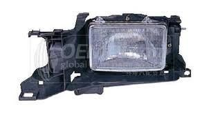 Toyota Tercel 91-94 Headlight Assembly RH USA Passenger Side With S