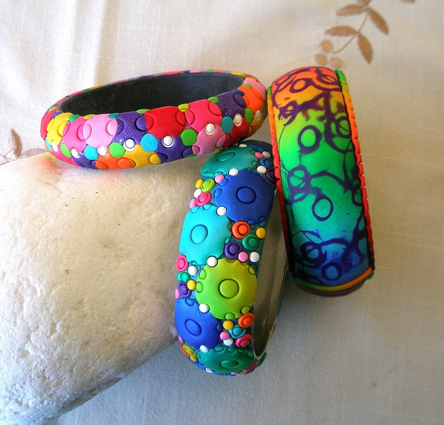 More bracelets, just to use the scrap | Flickr - Photo Sharing!