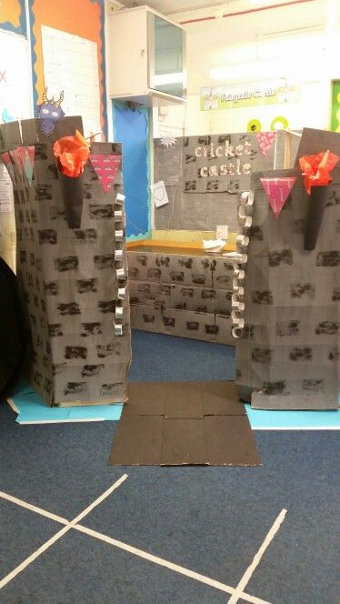 Year 1 'Castles and Dragons' topic role play area