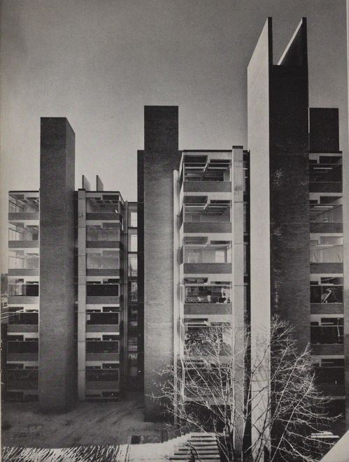 Richards Medical Research Laboratories. Louis Kahn. 1960. University of Pennsylvania in Philadelphia, Pennsylvania, U.S