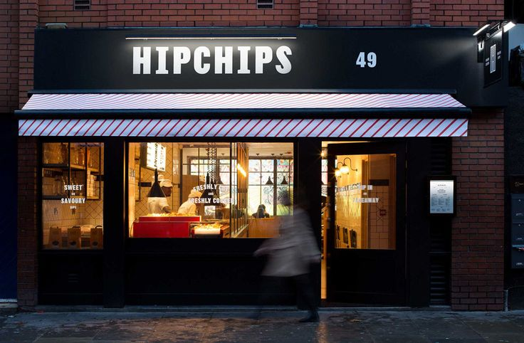 New Logo and Identity for Hipchips by Ragged Edge