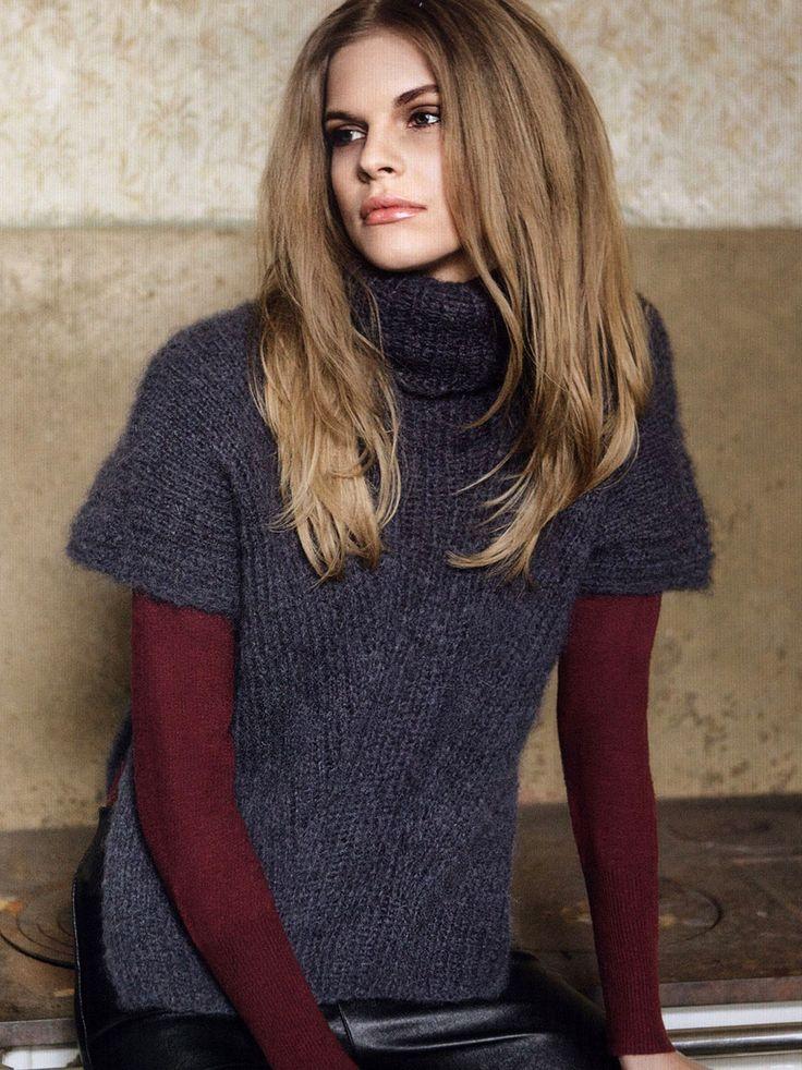 Пуловер со спущенными плечами. Обсуждение на LiveInternet - Российский Сервис Онлайн-Дневников