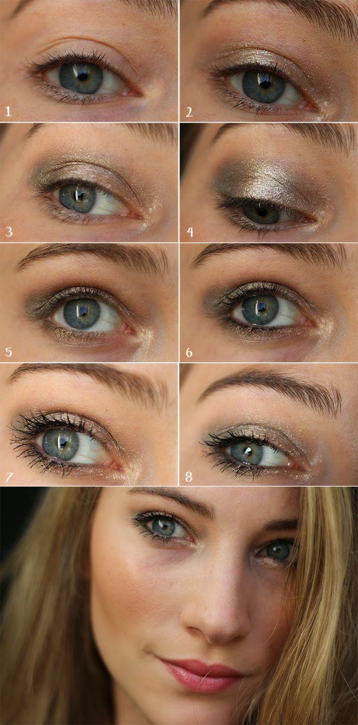 tuto - kaki - bourjois - eyes - make up - maquillage - beauty - lumineux