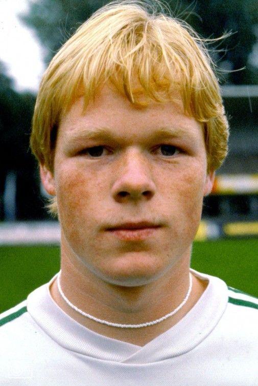 Ronald Koeman bij FC Groningen (1980)