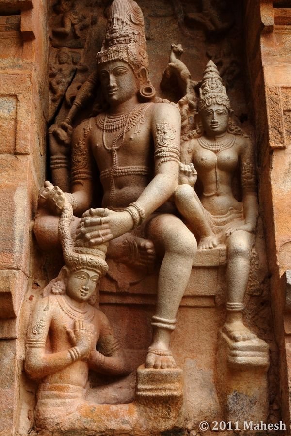 Travel Asian Indian Sculpture - Gangaikonda Cholapuram