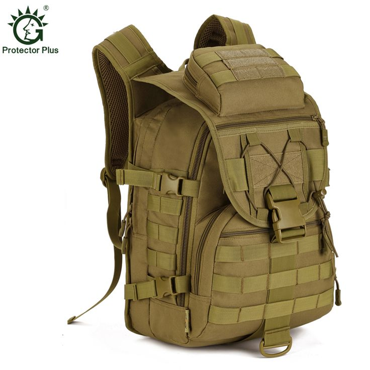 Waterproof Molle Backpack Military 3P Tad Tactical Backpack Assault Travel Bag For Men Cordura 40L Army Hunting Rucksack