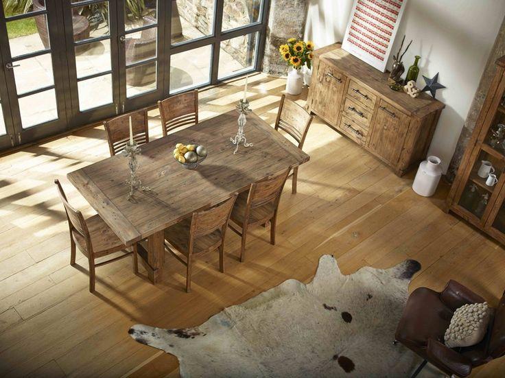 Best 25 Distressed wood dining table ideas on Pinterest