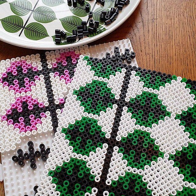 Perler bead design