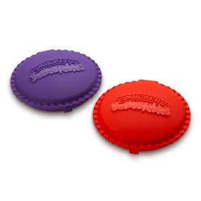 If we ever try Uncrustables, I wouldn't mind having these keepers!