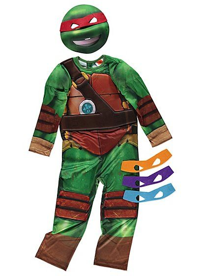 Teenage Mutant Ninja Turtles Fancy Dress Costume, read reviews and buy online at George at ASDA. Shop from our latest range in Kids. If they love dressing up...