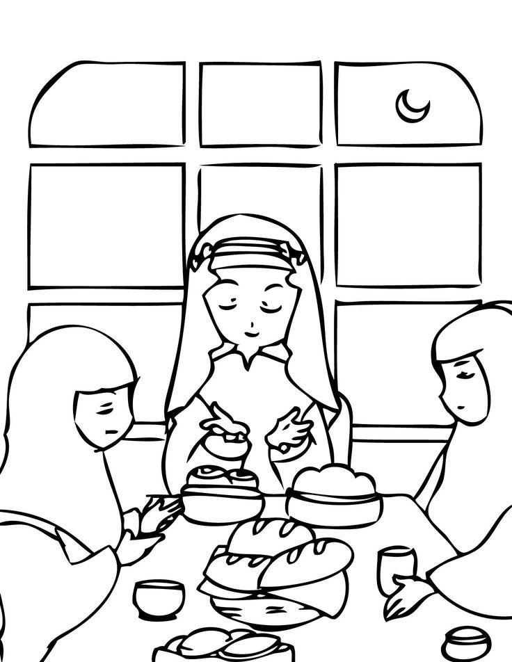 108 Best Boyama Images On Pinterest Islamic Studies Islamic Art Ramadan Coloring Pages