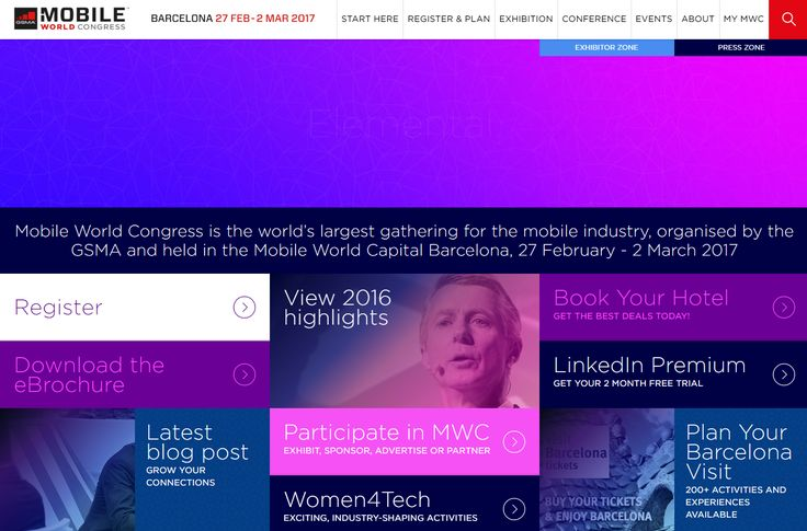 MWC2017 · #MOBILEWORLDCONGRESS, BARCELONA Our tickets are bought and our Tech Team is ready for another great year of the latest innovations! Join us in Barcelona :-) https://www.mobileworldcongress.com/