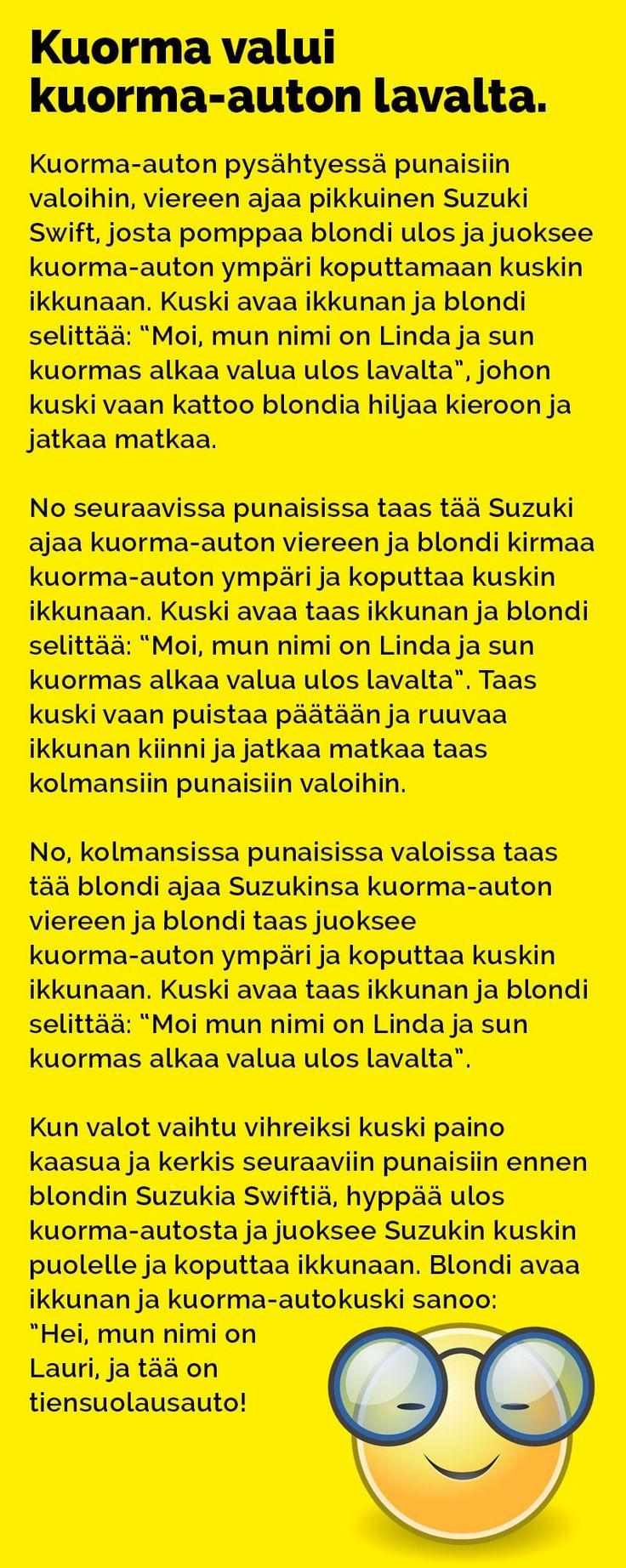 Avulias nainen, eikä kiitosta edes kuulunut. Katso lisää vitsejä! Lähde: hauskimmat.fi / Kim