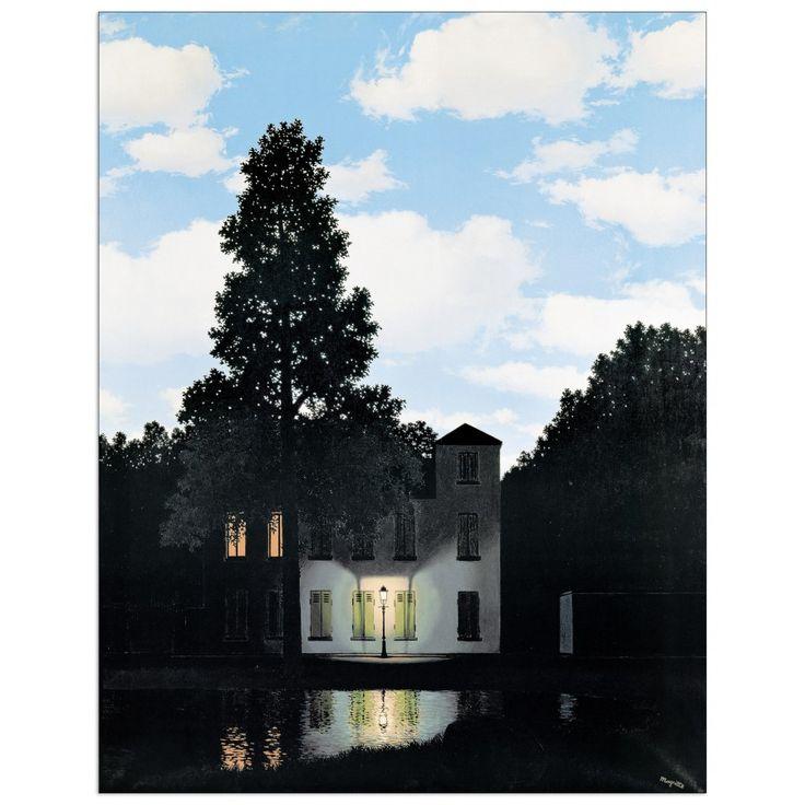 MAGRITTE - L'empire des lumieres (64x83 cm / 50x70 cm) #artprints #interior #design #art #print #Magritte  Scopri Descrizione e Prezzo http://www.artopweb.com/EC18417