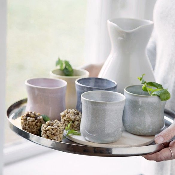 Kähler's new Mano jugs will round off your dinner table