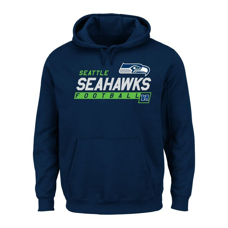 Seattle Seahawks Men's Big & Tall Team Pride Fleece Pullover Hoodie Sweatshirt - 4XL Tall