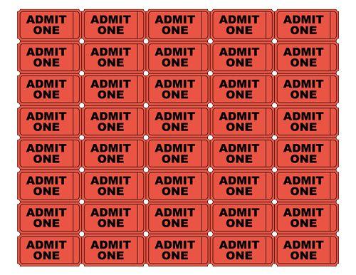 Best 25+ Admit one ticket ideas on Pinterest - free ticket template printable