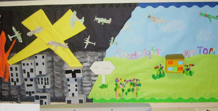 Goodnight Mr Tom classroom display photo - Photo gallery - SparkleBox
