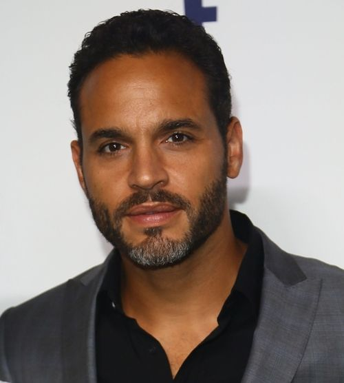 accras: Daniel Sunjata at the NBCUniversal Cable Entertainment Upfront, 5/15/14.