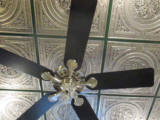 210 Best Faux Tin Ceiling Panels Images On Pinterest