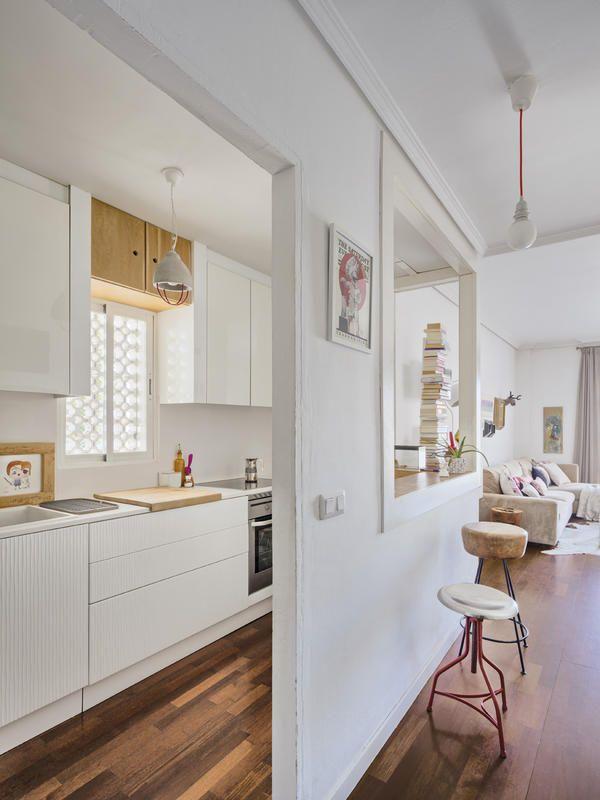 M s de 20 ideas incre bles sobre cocinas integradas en for Cocina unida a salon