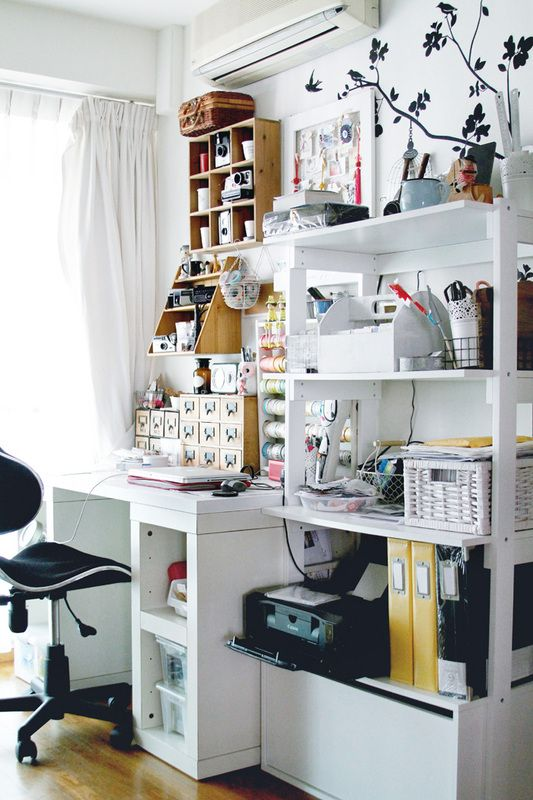 Top 25+ Best Small Workspace Ideas On Pinterest | Small Office Spaces,  Bureau Design And Bureau Ikea