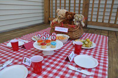 A Teddy Bear Picnic