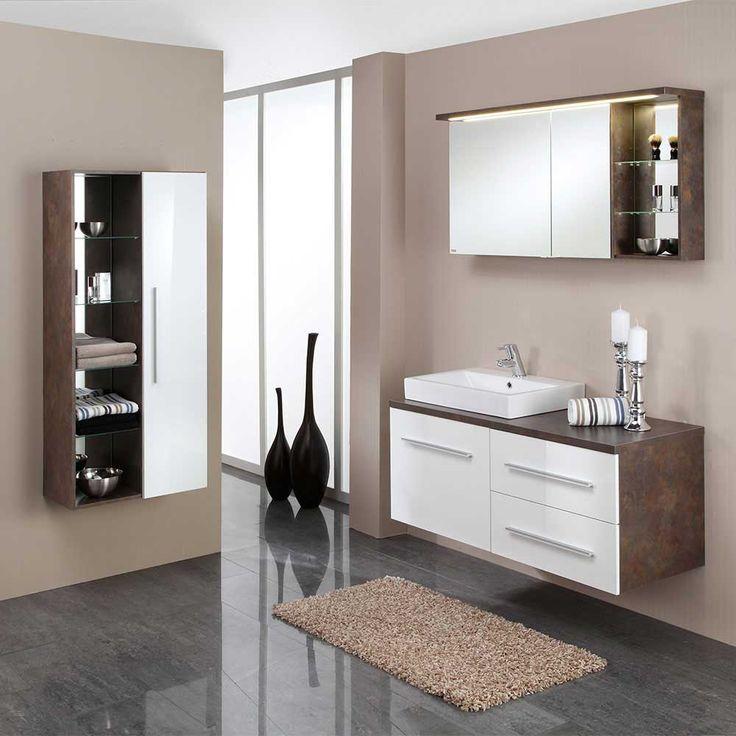 Fesselnd Badezimmermöbel Set Mit Waschtischkonsole Weiß Rost Optik (3 Teilig) Jetzt  Bestellen Unter: